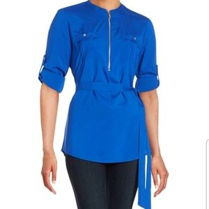 Calvin Klein Plus Size Women Tunic Top